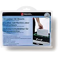 Rexel 2101949 A5 Shredder Oil Sheet (Pack of 20)