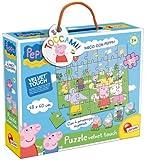 Liscianigiochi 43439 Puzzle Velvet Touch al Parco con Peppa