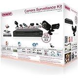 """Eminent EM6105 kit de vidéosurveillance - kits de vidéo-surveillance (Bullet, Avec fil, Intérieur & extérieur, CCD, 25,4 / 3 mm (1 / 3""""), 512 x 582 pixels)"""