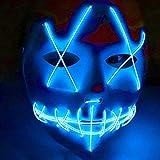 Beaums Controlador ordinaria/Voz Controlador EL Cable LED Máscara de...