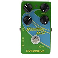 "Andoer Caline CP-25 Overdrive Guitare Effet Pédale ""Highway Man"" True Bypass"