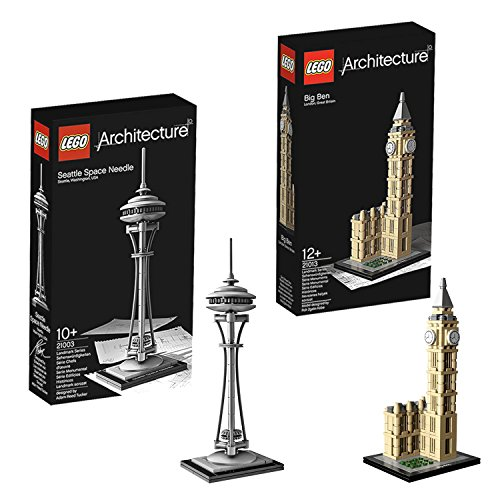Lego Architecture Seattle Space Needle 21003 And Big Ben 21013 By Lego Picture