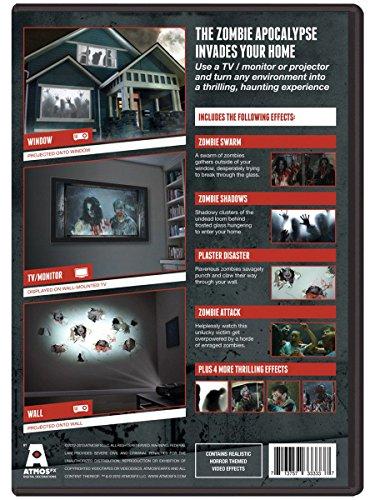 AtmosFEARfx Zombie Invasion! Halloween Digital Decorations DVD by AtmosFearFX