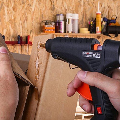 confronta il prezzo TACKLIFE GGO60AC Pistola Colla a Calda 60W con 30 Bastoni di Colla ad Alta Temperatura per con Grilletto Flessibile Per Fai Da Te Arti e Mestieri Progetti miglior prezzo