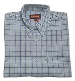 Boys Kickers Long Sleeve Button Down Check Shirt 70809 - Blue