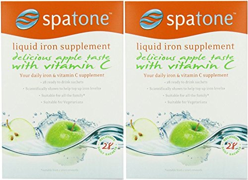 (2 PACK) - Spatone Spatone Apple - 28 Day Pack (28 Sachets) | (25 x 28)(ml x ) | 2 PACK - SUPER SAVER - SAVE MONEY