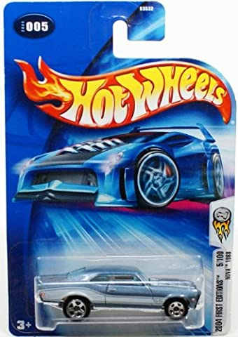 2004 First Editions #5 Nova 1968 Super Sport Tampo #2004-5 Collectible Collector Car Mattel Hot Wheels 1:64 Scale Collectible Die Cast (1968 Nova)