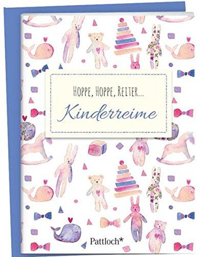Hoppe, hoppe, Reiter - Kinderreime: Spruch-Heftchen mit Kuvert
