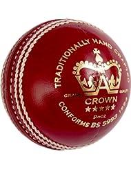 GRAY-NICOLLS–Corona 5Star críquet deportes grado 1cosido a mano Match, 156G), rojo, 5.5oz