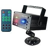 Luz de Escenario, SAHAUHY 3 Fuentes Lente 48 Patrones Sonido Activado automático con control remoto (luces de escenario)