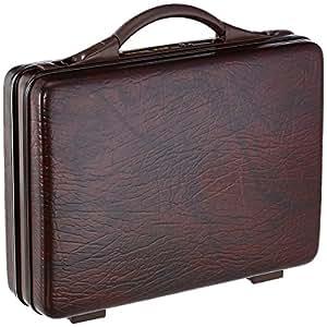 VIP Bt ABS 11 Ltrs Dark Tan Briefcase (BTBCMDNBT)