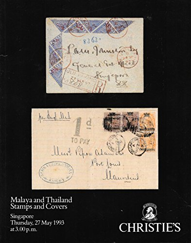 Malaya and Thailand Stamps and Covers Malaya Cover