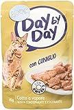 ADOC Day By Day Coniglio per gatti adulti, confezione da 24 pezzi