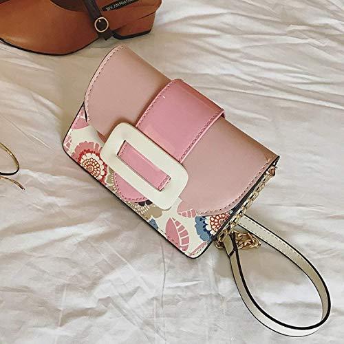 Fuxitoggo Schuhe für Frauen in Baumwolle Tintenstrahldrucker (Farbe : Rose, Größe : Einheitsgröße)