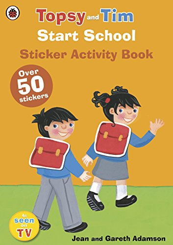 Start School: A Ladybird Topsy and Tim sticker activity book por Ladybird
