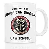style3 American Samoa Law School Taza con motivo saul