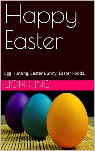 happy-easter-egg-hunting-easter-bunny-easter-foods-english-edition