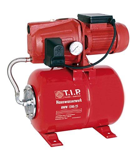 T.I.P. Hauswasserwerk HWW 1200/25 Haus Wasserwerk 4300 l/h 1200 W/25 Profi NEU