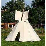 3 m stor tipi indianertipi indianertält wigwam tält