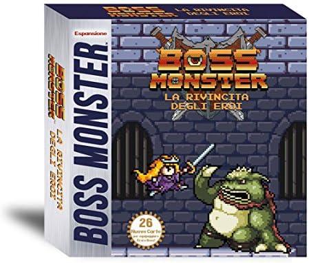 Fever Games rdeb – Jeu Boss Monster. La Revanche des héros [Expansion pour Boss Monster] | économique Et Pratique