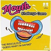 SainSmart Jr. Frase Speaking Out Challenge Gioco, C-Forma Retrattori guance, bocca Opener per Ridicolo partito Card Game, 5 Pezzo