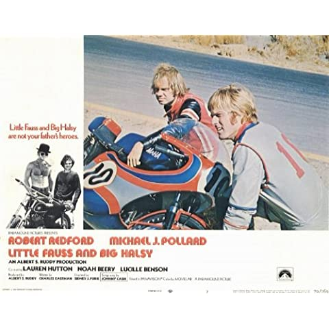 Little Fauss and Big Halsy Poster (11 x 14 Inches - 28cm x 36cm) (1970) Style B