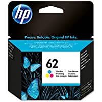 HP 62 Tri-color Original Ink Cartridge (C2P06AE)