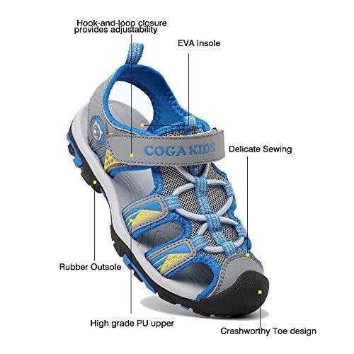 Sportshuhe Grau Walkingschuhe SITAILE Schuhe Kinder Outdoor Schuhe SITAILE Geschlossene Sandalen Kinder n68qfwxqRO