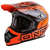 O'Neal 3Series MX Helm LIZZY Orange Rot Motocross Offroad Enduro, 0603Q-50, Größe XL