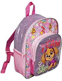2b751876e8d PAW PATROL GIRLS SKYE GLITTER GIRLS KIDS BACKPACK WITH POCKET RUCKSACK  SCHOOL HOLIDAY TRIP BAG