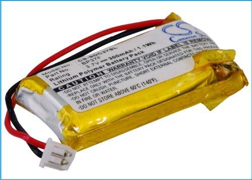 CS-SDC37SL Batería 300mAh [DOGTRA] EF3000 Gold, EF3000 Gold Dog Containment System Collar, iQ, iQ Plus Remote Dog Training Collar sustituye BP37F