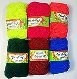 #10: Yashika Best Quality yarn multi colour Pack of 6 (Multi colour)