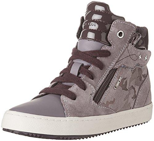Geox Mädchen J Kalispera Girl D Hohe Sneaker, Violett (Lt Prune), 32 EU
