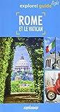 Rome et le Vatican (1Plan détachable)