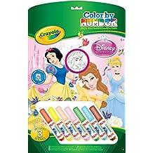 5a5597d76 Crayola 55522 - Colorear Por Números : Princesas