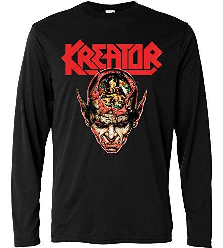 T-shirt a manica lunga Uomo - Kreator - Coma of Souls - Long Sleeve 100% cotone LaMAGLIERIA, M, Nero