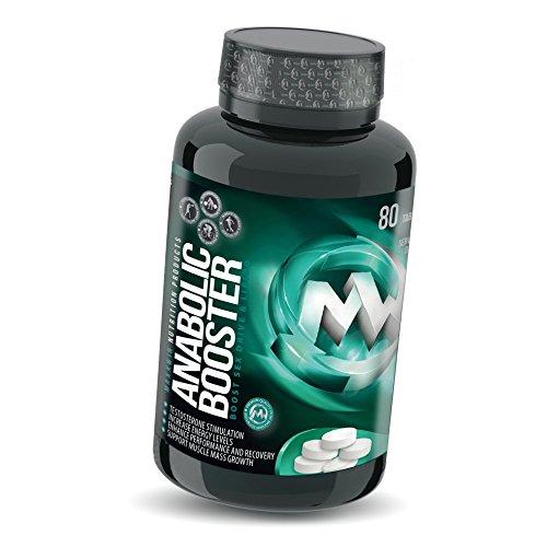 ANABOLIC TB MAXX | 80 Tabletten (vegan) | HOCHDOSIERT | Natürlicher Testosteron-Booster | Mit Tribulus + Maca + Arginin + AAKG + Koffein | ALL-IN-ONE