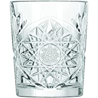 Hobstar 12 x Whiskygläser, Tumbler, Glas, 355 ml