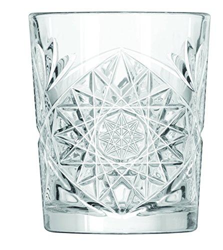 12x Vasos de whisky, Tumbler, vidrio, 35cl, 9cm de diámetro, al
