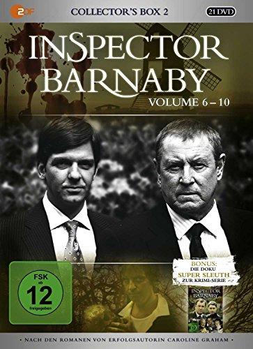 Inspector Barnaby - Collector's Box 2, Vol. 6-10 (20 Discs) Fiona Music Box