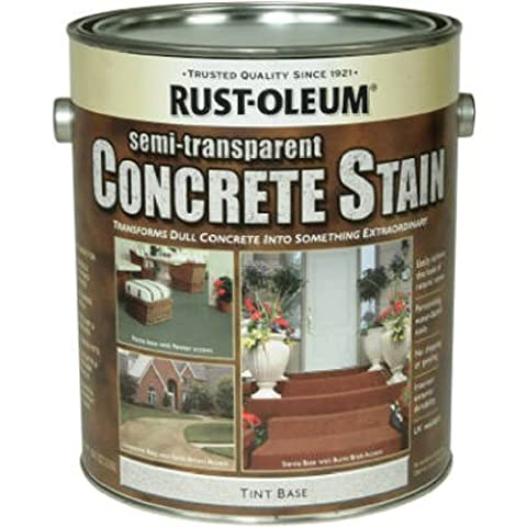 RUST-OLEUM - Concrete Stain & Sealer, Semi-Transparent, 1-Gal.