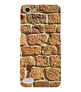 EPICCASE Beach brick wall Mobile Back Case Cover For OPPO Neo 7 (Designer Case)