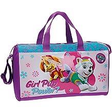 La Patrulla Canina Girl Bolsa de Viaje, 21.17 Litros, Color Rosa