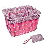 Electra Bicycle Electra Basket Liner Pink Korbeinsatz Tasche Wende Tasche Gepäck, 806013