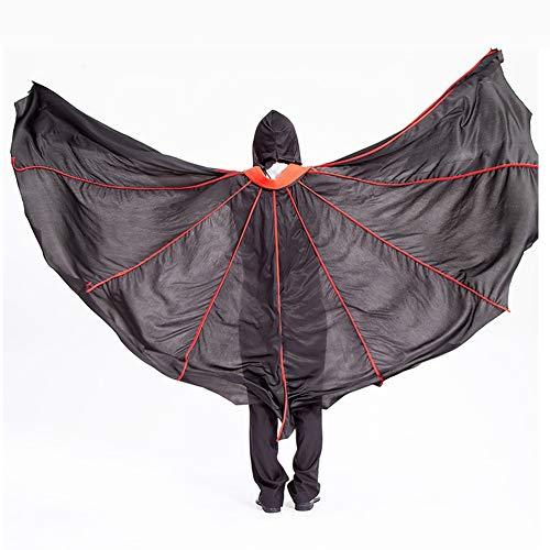 Hexe Erwachsene Haunted Kostüm Für - Unisex Halloween Erwachsener Mit Kapuze Hexe Wizard Vampire Mantel Cosplay Kostüm Cape Robe Haunted House Party Kostüm