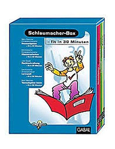 Schlaumacher-Box, mit 5 Büchern --Fit in 30 Minuten--