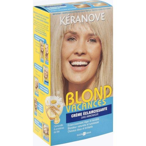 kranove blond vacances 21028496 crme eclaircissante sans ammoniaque - Coloration Keranove
