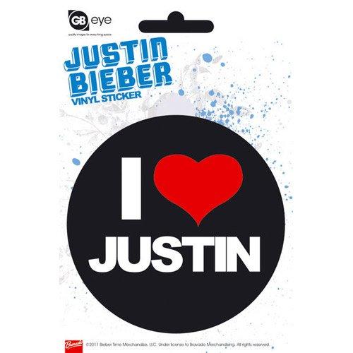 Justin Bieber - Sticker I love