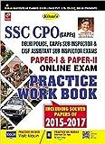 SSC CPO (CAPFS) Paper-I & Paper-II Online Exam Practice Work Book - 2097