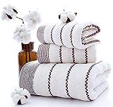Microfibra toalla para la cara juego de 3piezas Hojas de secado...